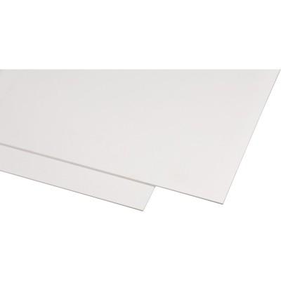 Plast biely - METEX PVC-FF 1560x3050x2mm