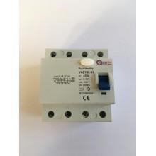 Prúdový chránič YCB7RL-4P/400V/30mA/AC 40A