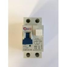 Prúdový chránič s ističom YCB7LN-2P/230V/30mA/AC 16A