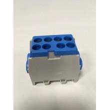 Svorka rozbočovacia FVKO 2x25/2x16mm2 pre Cu/Al vodiče - modrá