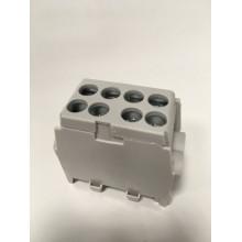 Svorka rozbočovacia FVKO 2x25/2x16 mm2 pre Cu/Al vodiče - sivá