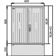 SFOS elektromerový rozvádzač 3E2R+K2