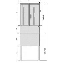 SFOS elektromerový rozvádzač 4E2RP/F+ZD