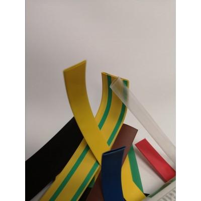 Bužírka zmršťovacia 4,8-2,4mm žlto-zelená