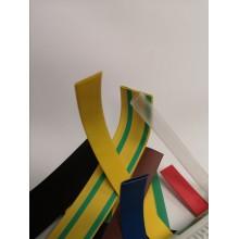 Bužírka zmršťovacia 19-9,5mm žlto-zelená
