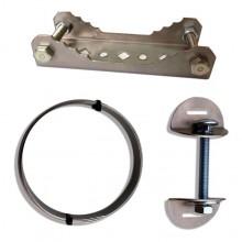 SFOS Držiak na stĺp MALÝ pre priemer stĺpa 150-300mm vrátane upevňovacej sady