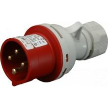 Vidlica IVN 3243 400V/32A/4-pól IP44