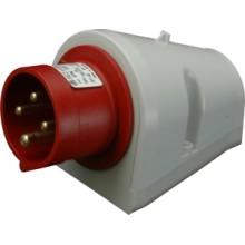 Prívodka IPN 1643 400V/16A/4-pól IP44