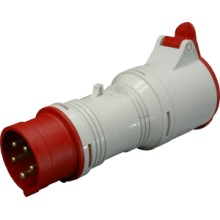 Adaptér A 1653/43 400V/16A/ 5-pól/4-pól IP44
