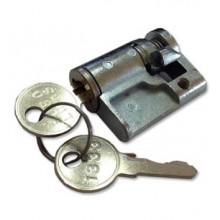 Vložka do zámku na plochý vrúbkovaný kľúč