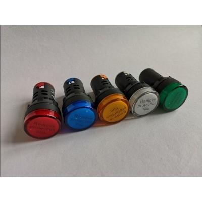 LED signálka 230V biela AD 22