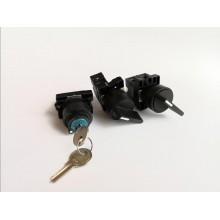Spínač na panel s kľúčom NG22-EG21 1-0