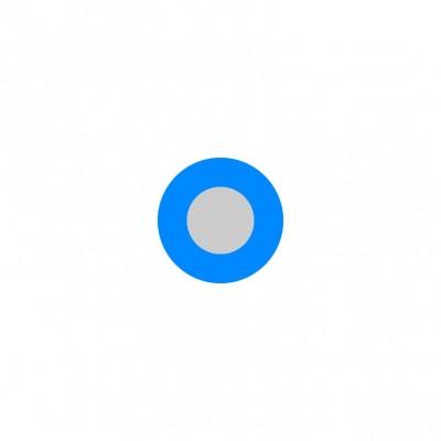 Vodič H07V-U (CY) 10 modrý