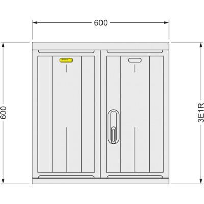 SFOS 3E1R elektromerový rozvádzač