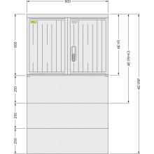 SFOS elektromerový rozvádzač 4E1RP