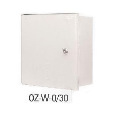 PELMET skriňa OZ-W-0/30 (zapustená) (šírka x výška x hĺbka) 310x310x125mm