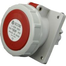 Zásuvka vstavaná IEGN 6353 /63A/400V/5P/IP67