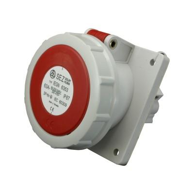 Zásuvka vstavaná IEGN 6353/63A/400V/5P/IP67