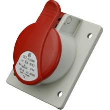 Zásuvka vstavaná IEN 1653 400V/16A/5P/IP54