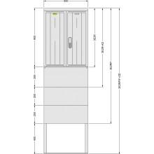 SFOS 3E2RP/F+ZD elektromerový rozvádzač