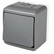 Vypínač č.1 10WHE-1 šedý