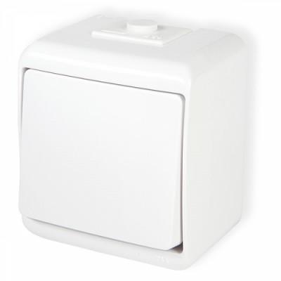 Vypínač č.1 WHE-1 biely