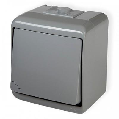 Vypínač č.6 10WHE-3 šedý