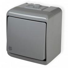 Vypínač č.7 10WHE-6 šedý