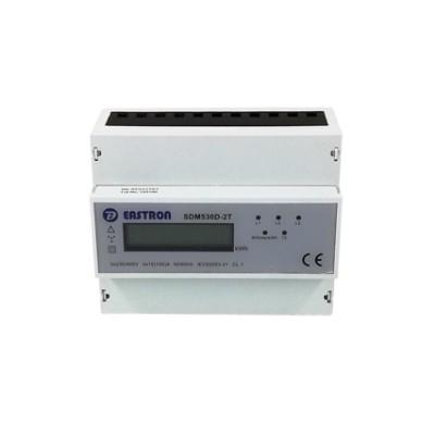 Elektromer trojfázový SDM53OD 3F/2T na DIN,LCD,7 mod