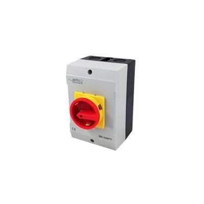 Núdzový vypínač MX-340PY 40A v krabici