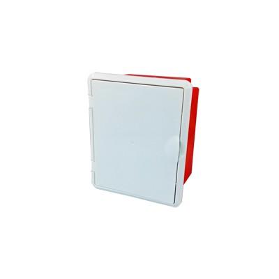 Krabica na meraciu svorku bleskozvodov nastaviteľná s dvierkami R.8144D