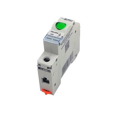 Signálka modulová 230V zelená SL-G