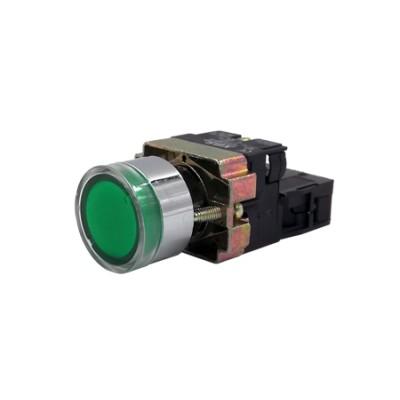 Spínač podsvietený NG22-BW3361 zelený