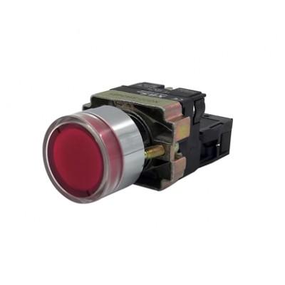 Spínač podsvietený NG22-BW3361 červený
