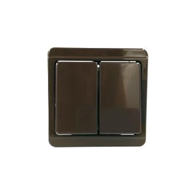 Vypínač č.5b hnedý 4FN57504.2116
