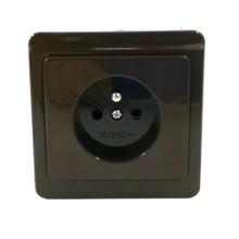 Zásuvka hnedá 4FN15037.2116