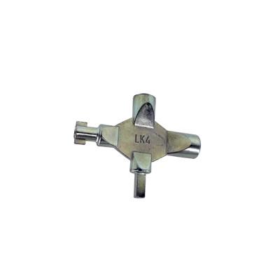 Kľúč univerzálny pre rozvádzačové skrinky LK4