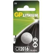 Batéria GP CR2016 gombíková 3V