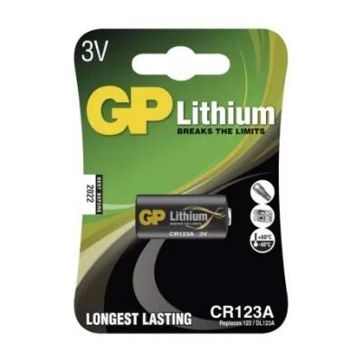 Batéria GP CR123A 3V