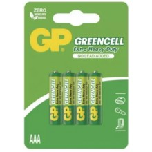 Batéria GP R03 GREENCELL 1,5V (AAA)