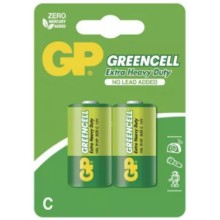 Batéria GP R14 GREENCELL 1,5V (C)