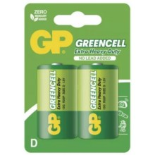 Batéria GP R20 GREENCELL 1,5V (D)