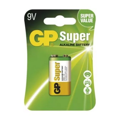 Batéria GP 6LF22 SUPER 9V