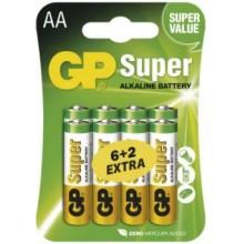 Batéria GP LR6 SUPER 1,5V (AA)