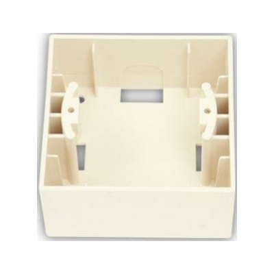 Krabica povrchová Visage Ivory béžová