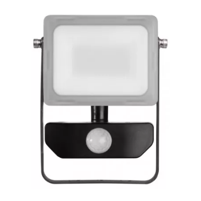 LED reflektor ILIO neutrálna biela s pohyblivým čidlom 10W