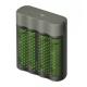 Nabíjačka batérií GP Speed M451+4AA RECYKO 2700