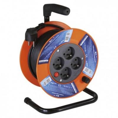 Predlžovací kábel na bubne s PVC izoláciou 15m