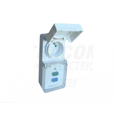 Zásuvkový adaptér s prúdovým chráničom TFGA-4F
