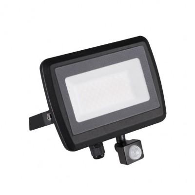 LED reflektor ANTEM neutrálna biela 50W-NW-SE B s pohyblivým čidlom